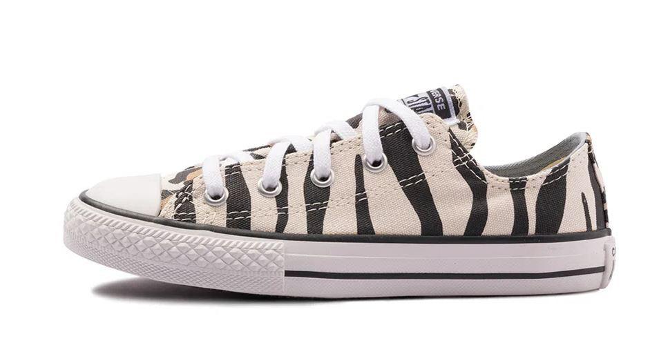 Tênis All Star Converse Infantil Zebra Ck08110001 Original