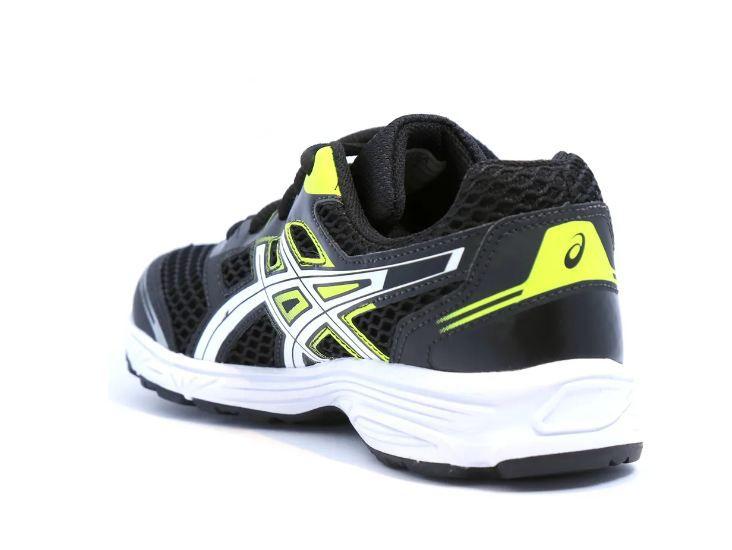 Tênis Asics Buzz 2 GS Black/White/Flash Yellow