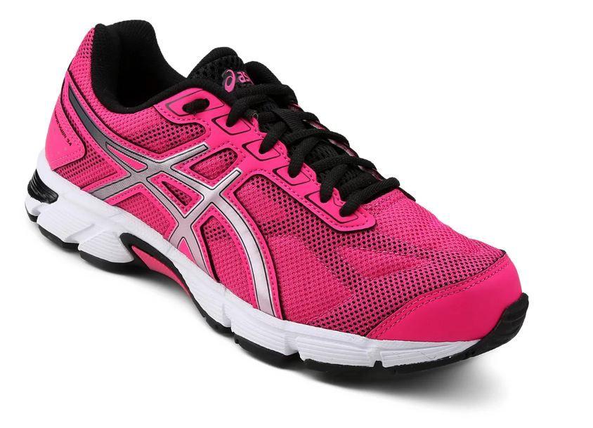 Tênis Asics Gel Impression 9 Feminino - Pink e Preto