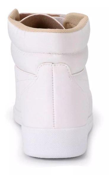 Tênis Botinha Moleca Branco 5442