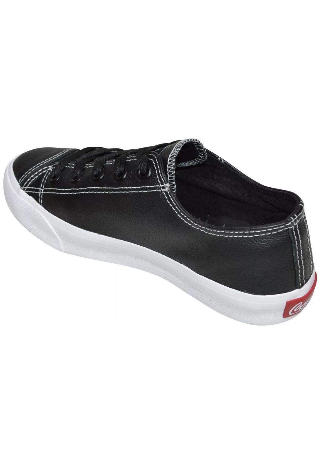 Tênis Casual Coca Cola Shoes Preto Atlanta