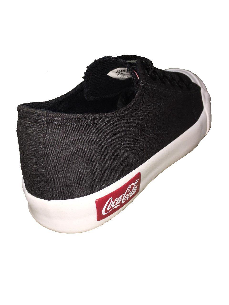 Tênis Coca Cola Basket Resort Preto