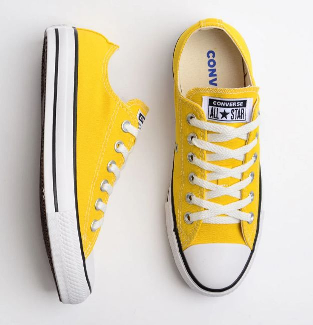 TÊNIS CONVERSE ALL STAR AMARELO VIVO CT04200034