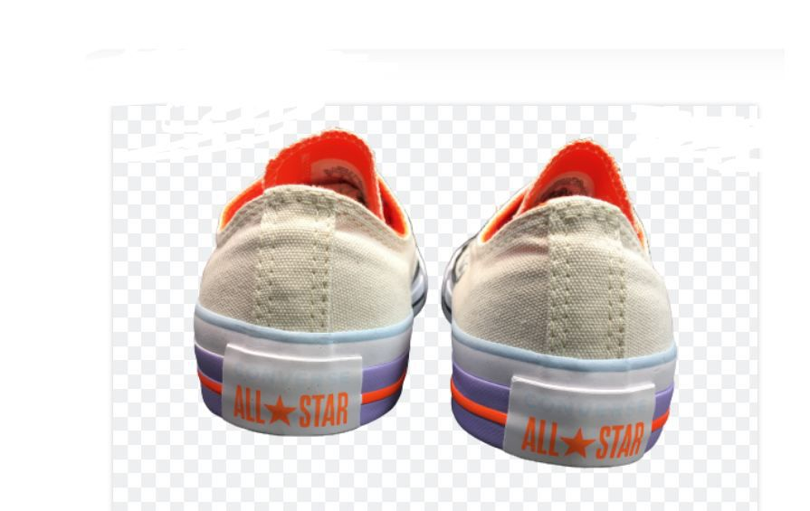 TÊNIS CONVERSE ALL STAR BEGE CLARO LILAS BRANCOPRETO CT14320002