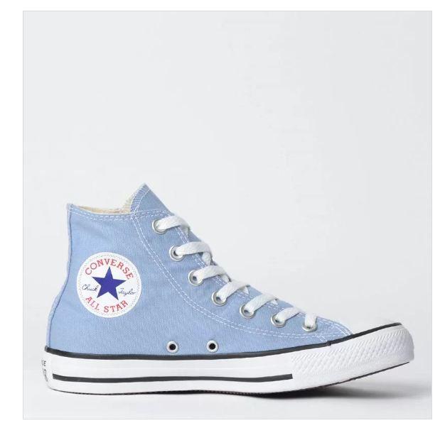 converse all star azul claro