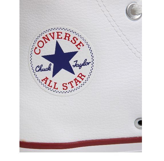 Tênis Converse All Star Bota Cano Alto Couro Branco