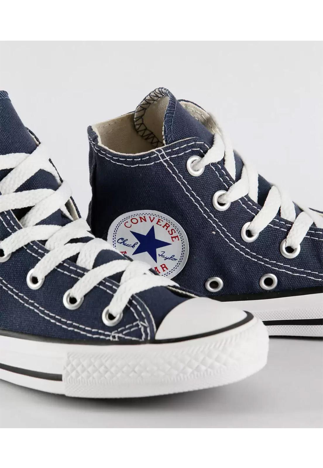 Tênis Converse All Star Infantil Cano Alto Marinho