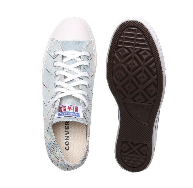 Tênis Converse All Star Jeans céu/amendoa ct12530002