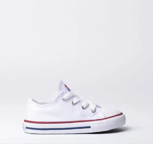 TÊNIS CONVERSE ALL STAR KIDS  BRANCO CK00010001