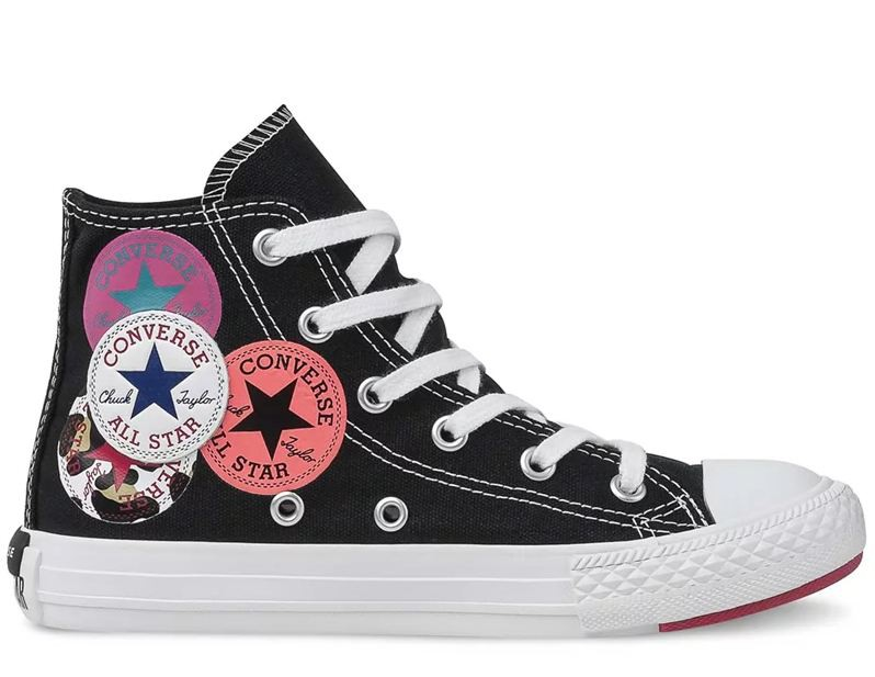 TÊNIS CONVERSE ALL STAR KIDS PRETO CK08180001