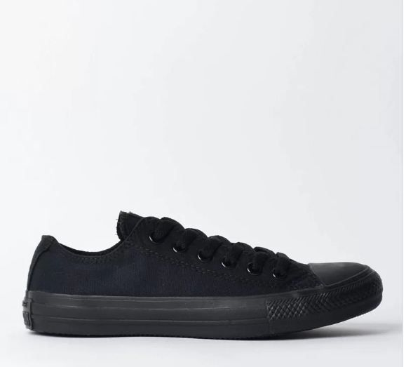 TÊNIS CONVERSE  ALL STAR MONOCHROME TODO  PRETO CT04460002