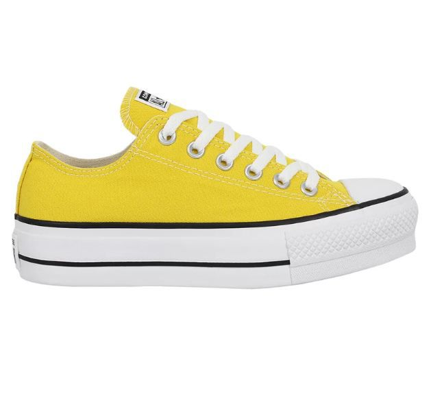 TÊNIS CONVERSE ALL STAR PLATAFORMA  AMARELO VIVO CT09630014