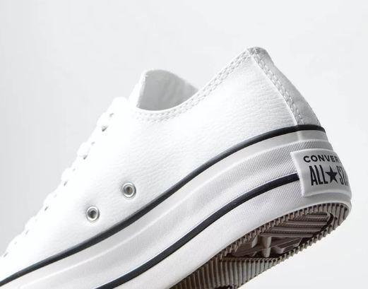 Tenis Converse All Star Platform Cano Baixo branco ct09830001