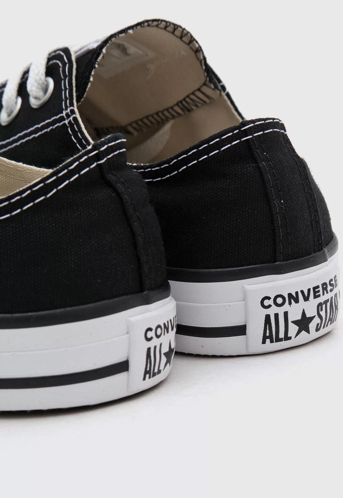 Tênis Converse All Star Preto CT00010002 lista preta