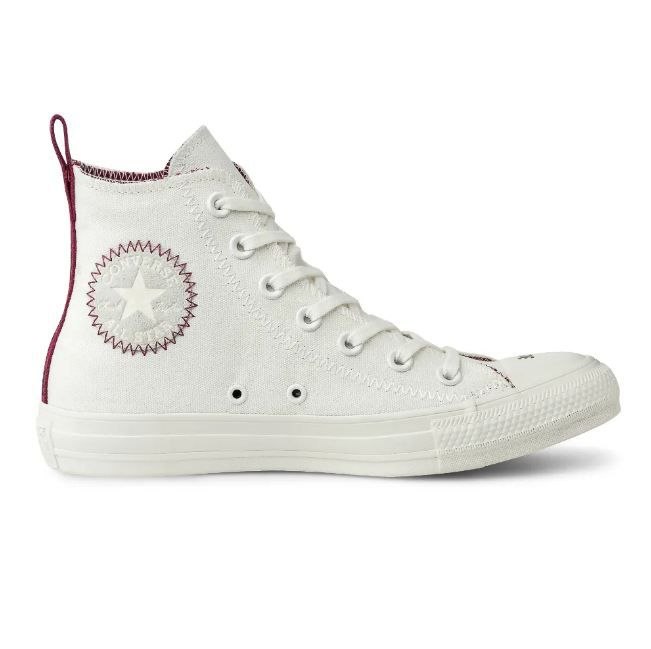 Tênis Converse Chuck Taylor All Star Hi AMENDOA/BORDO CT1258001
