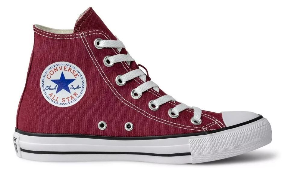 Tênis Converse Chuck Taylor All Star Hi Bordô Ct00040008