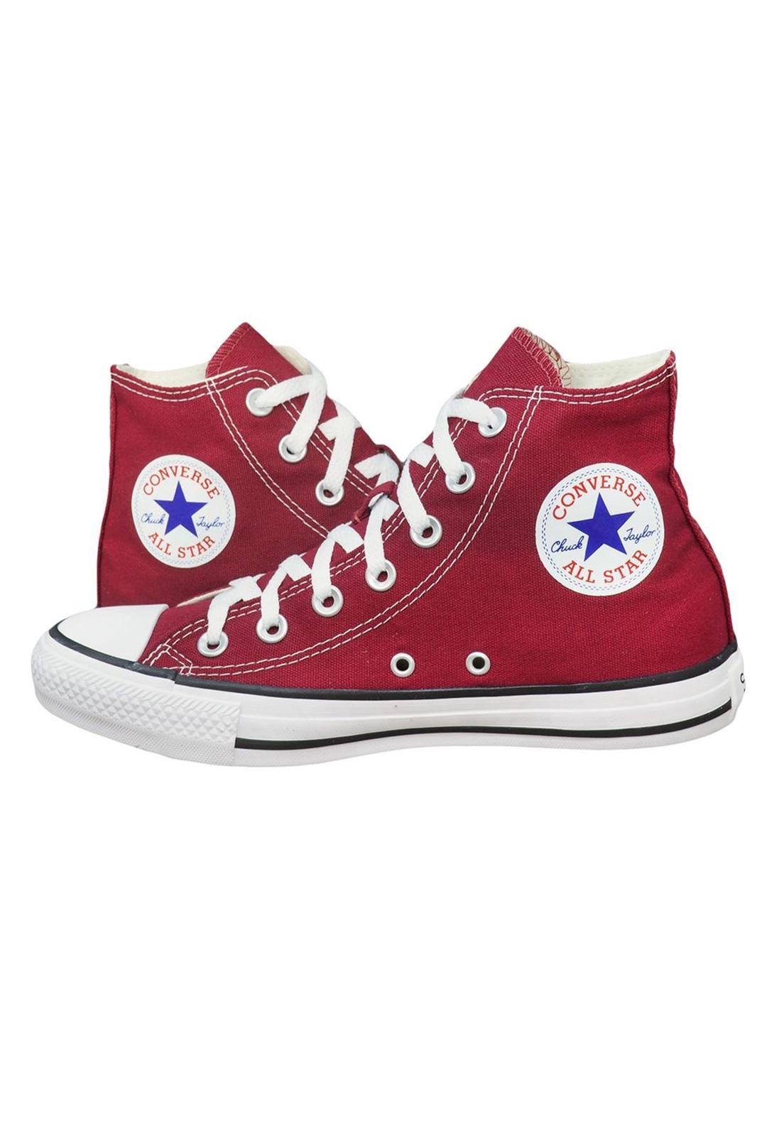 Tênis Converse Chuck Taylor All Star Hi Bordô Ct00040008