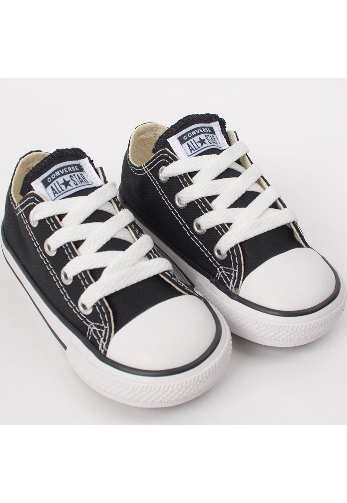 Tênis Converse Chuck Taylor All Star Kids Ox Preto CK00010002