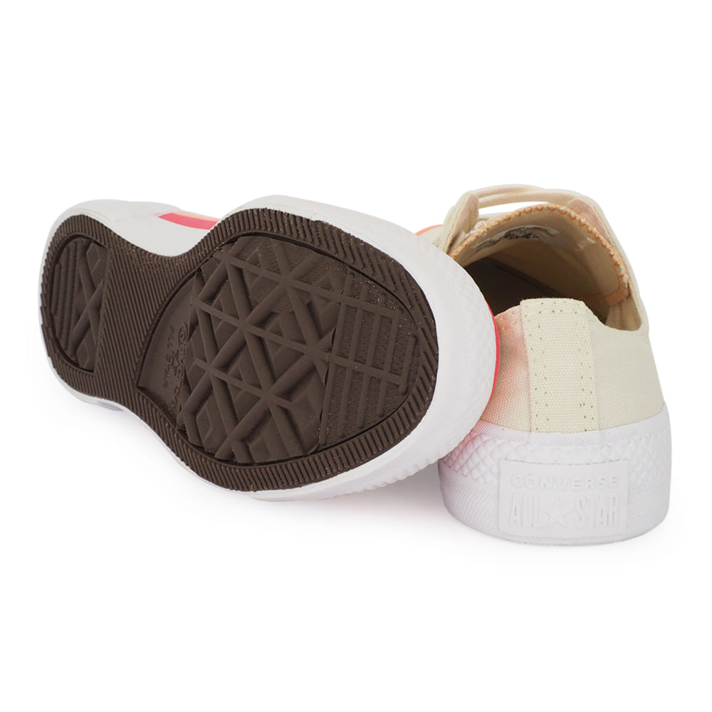 TENIS CONVERSE CHUCK TAYLOR ALL STAR OX NUDE/ROSA CT14710001
