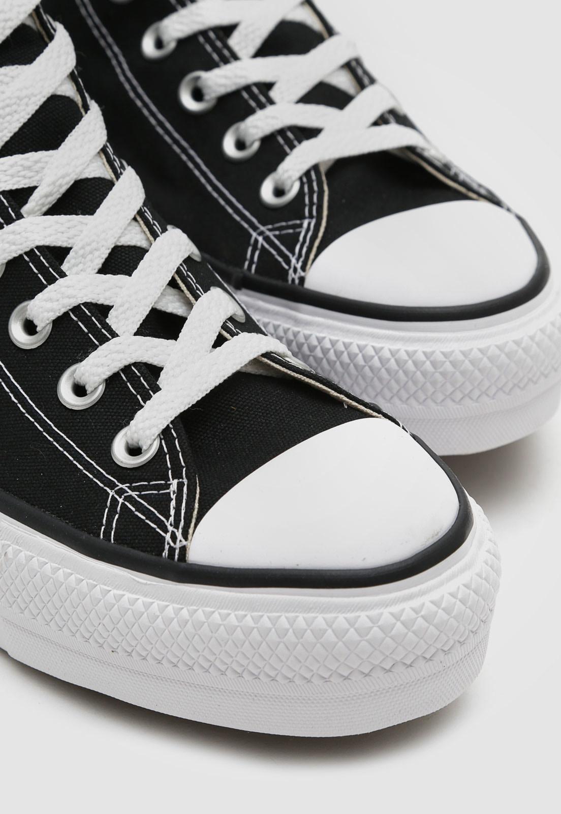 Tênis Converse Chuck Taylor All Star Platform Ox - Preto CT04940001