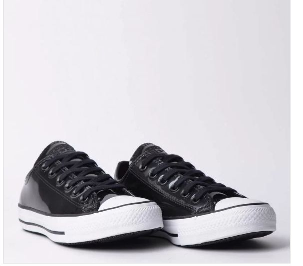 TÊNIS CONVERSE CHUCK TAYLOR ALL STAR PRETO BRANCO CT11990003