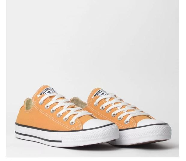 TÊNIS CONVERSE CHUCK TAYLOR ALL STAR SEASONAL OX MOSTARDA CT04200027