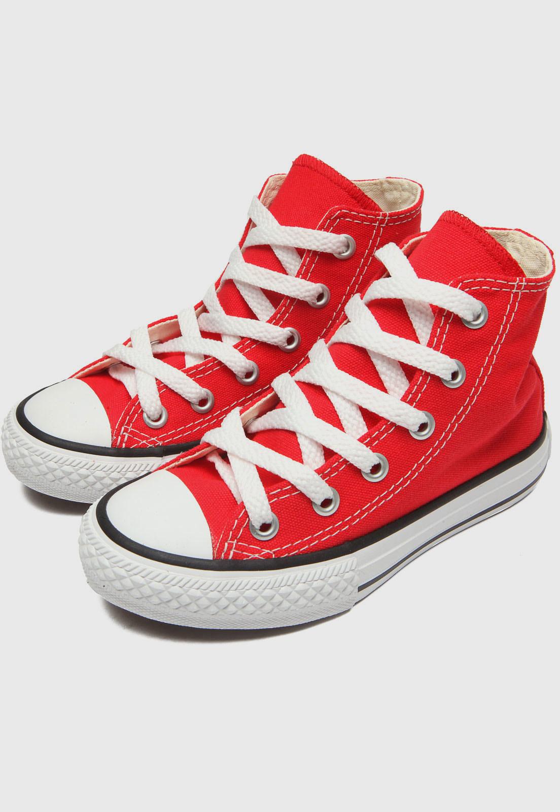 Tênis Converse Chuck Taylor All Star Vermelho ck00040004