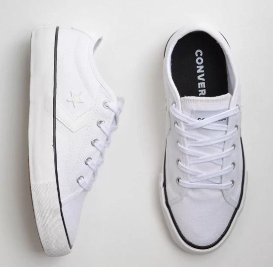 TÊNIS CONVERSE STAR REPLAY OX BRANCO BRANCO CO02540002