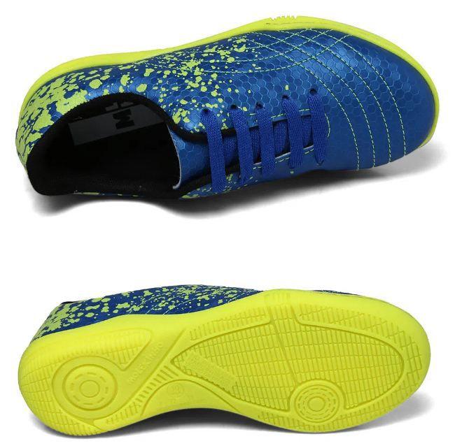 Tênis de Salão Molekinho Neo Azul Fluor/Amarelo Fluor 2808.102