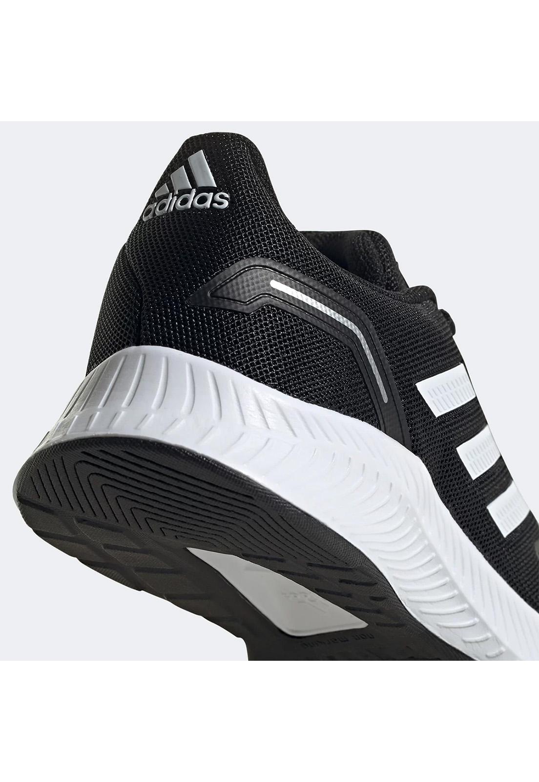 Tênis Infantil Adidas Novo Runfalcon 2.0 Preto Branco