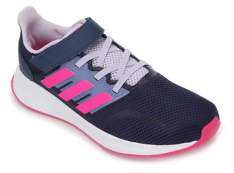 Tênis Infantil Adidas Runfalcon C - Marinho e Rosa