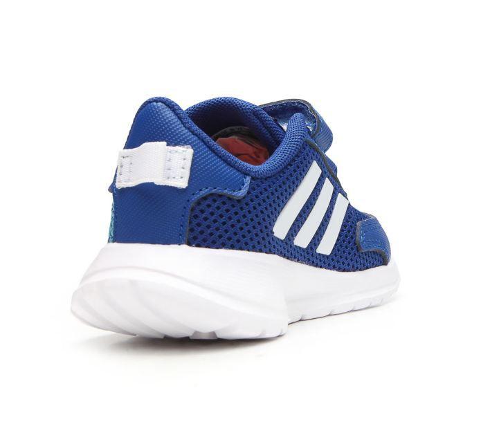 Tênis Infantil Adidas Tensaur Run Feminino - Azul e Branco