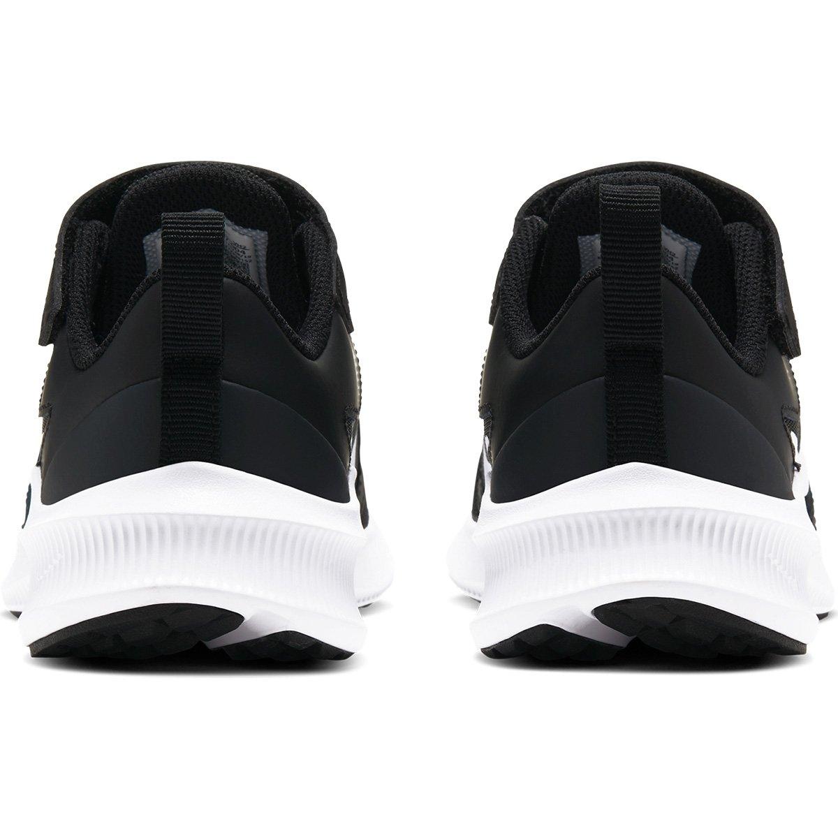 Tênis Infantil Nike Downshifter 10 - Preto e Off White