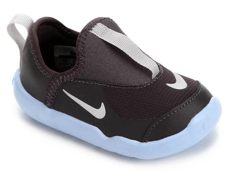 Tênis Infantil Nike Lil' Swoosh Masculino - Cinza