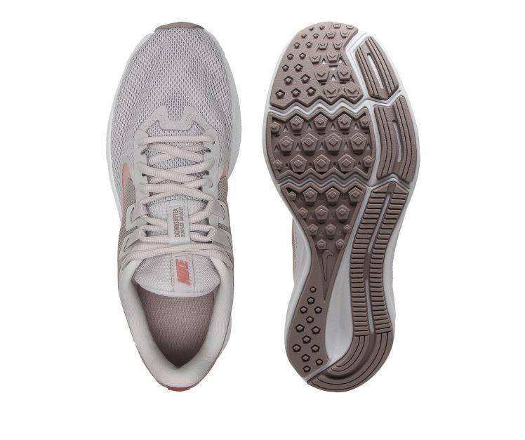 Tênis Nike Downshifter 9 Cinza/Rosa