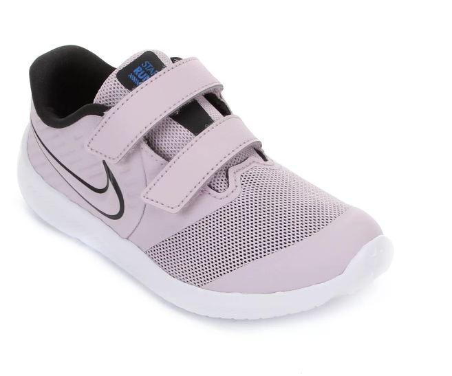 Tênis Nike Infantil Star Runner 2 - Lilás e Branco