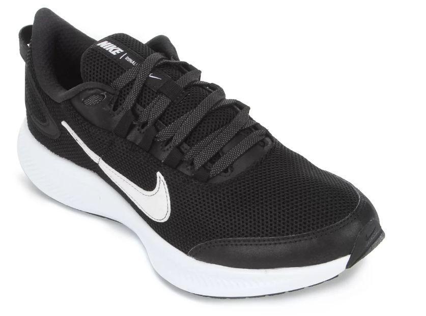 Tênis Nike Runallday 2 - Preto e Branco