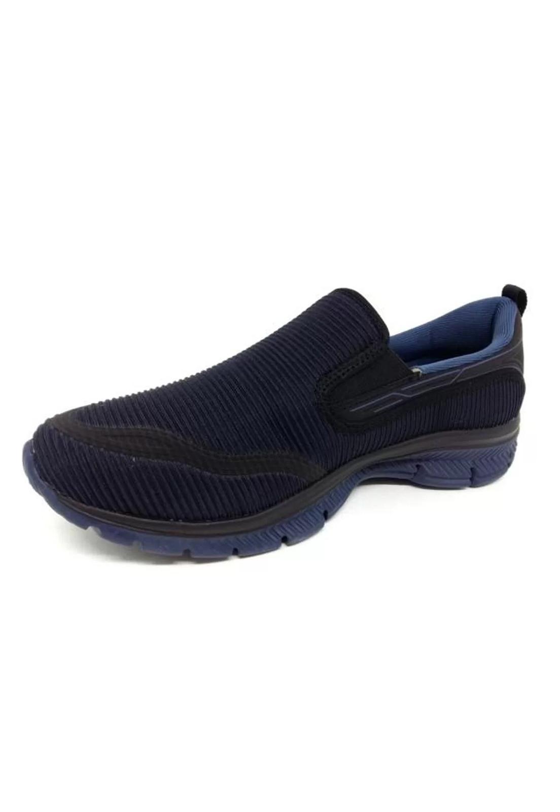 Tênis Olympikus Wellness 322 Masculino - Preto Azul