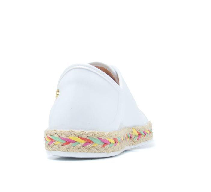 Tênis Petite Jolie Cordas Branco PJ3583