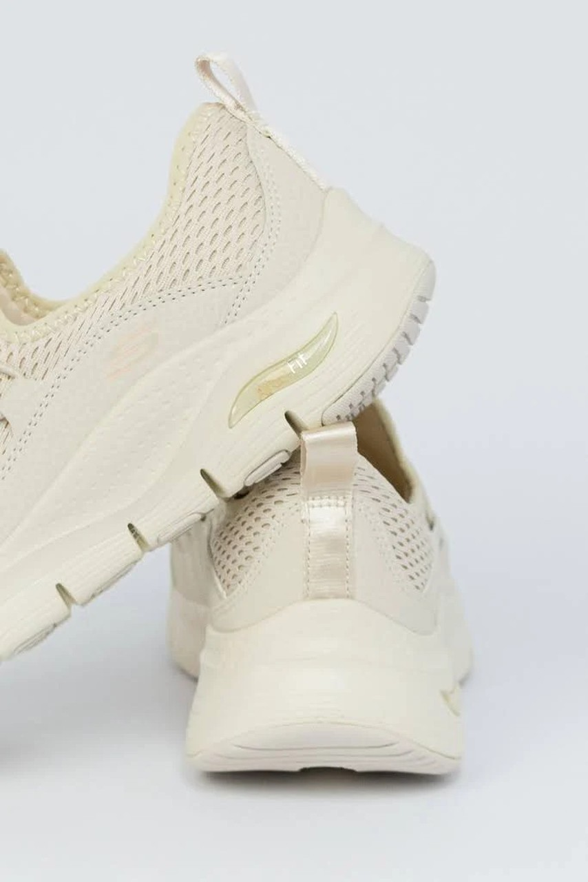 TENIS SKECHERS ARCH FIT LUCKY THOUGHTS NUDE 149056