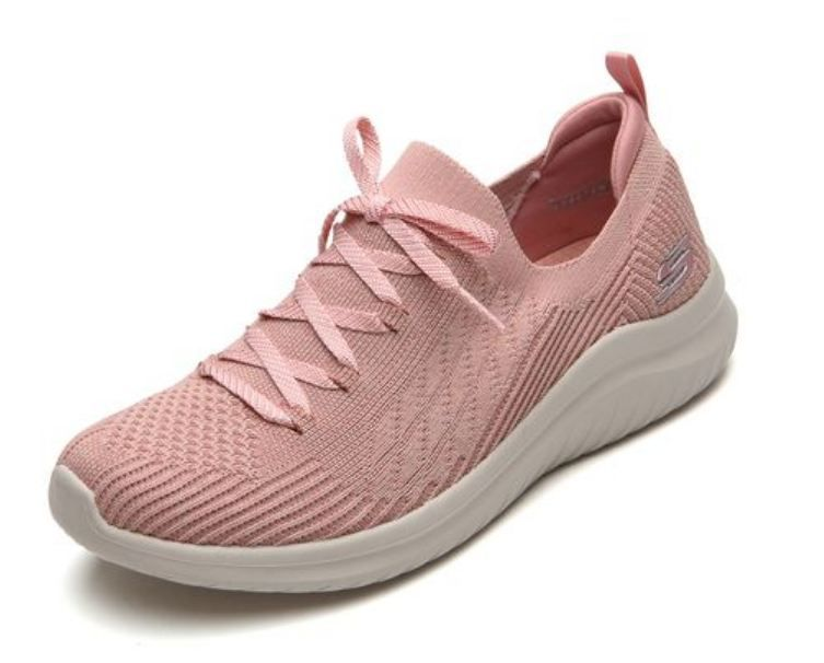 Tênis Skechers Ultra Flex 2.0  Stretch Fit Rosa