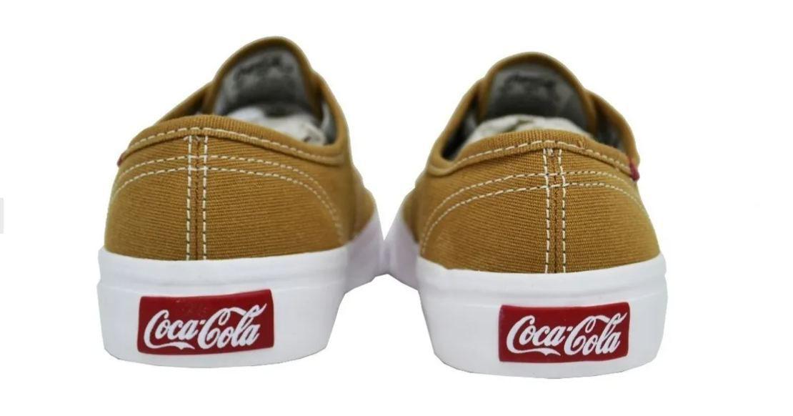 Tênis Unissex Coca Cola Kick Summer Cc0471 Castor