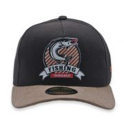 Boné Aba Curva Country Strapback Fishing Tournament Marrom