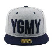 Boné Aba Reta Young Money Snapback YGMY Cinza
