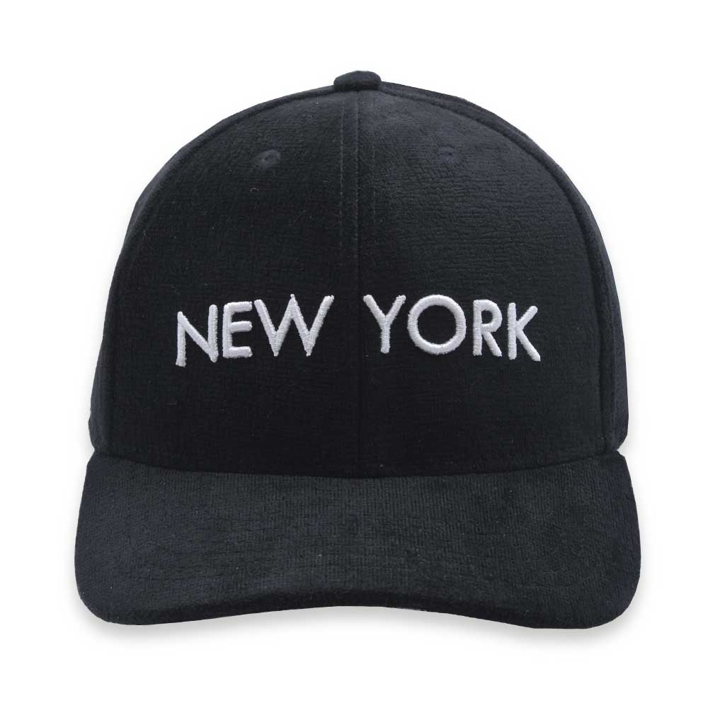 Boné Aba Curva Black Bulls Strapback New York Preto