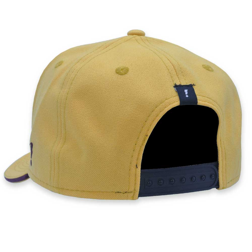 Boné Aba Curva Hype Style Snapback New York Amarelo