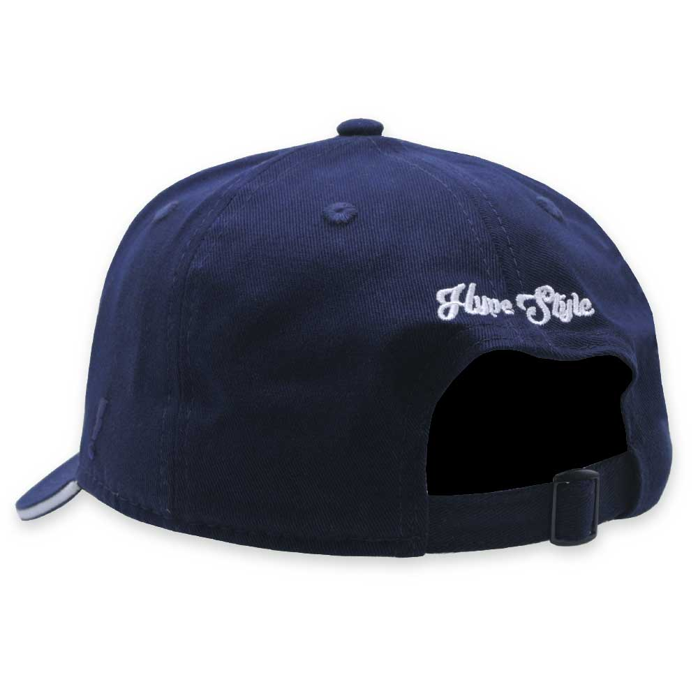 Boné Aba Curva Hype Style Strapback NY Azul Marinho
