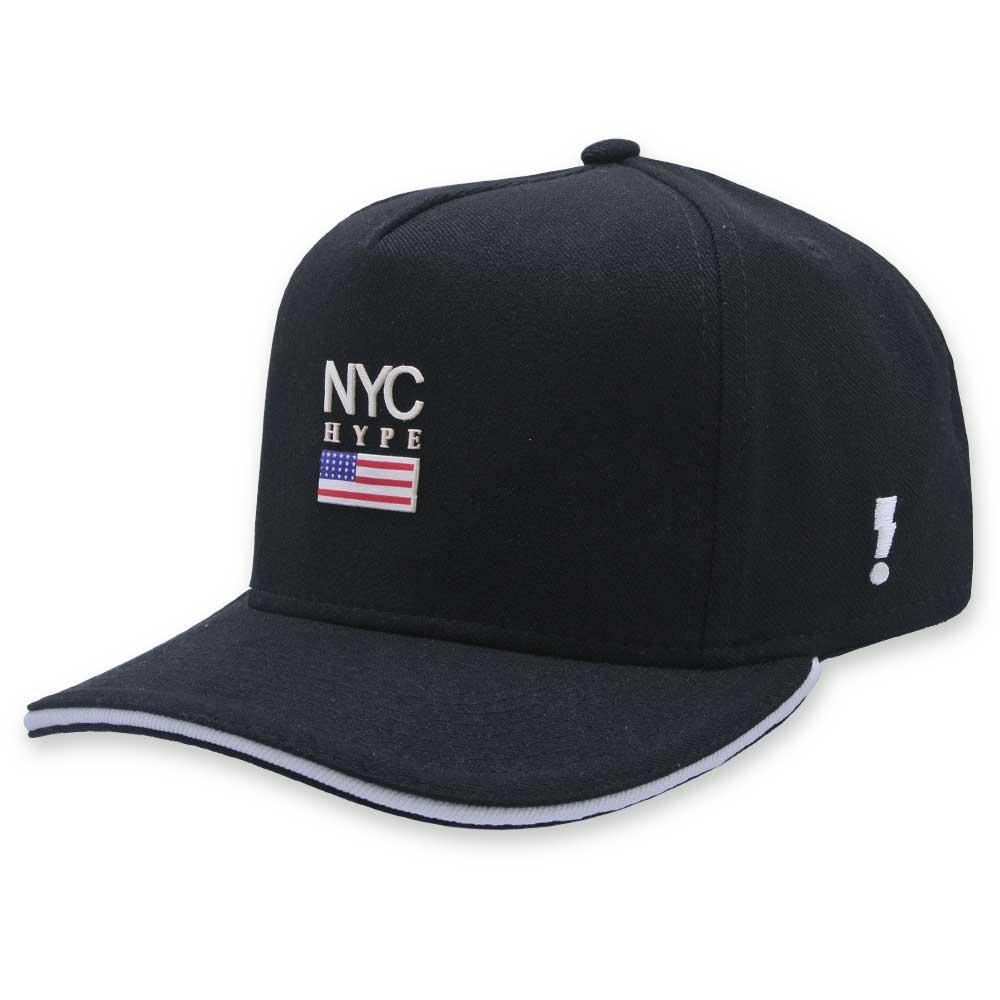 Boné Aba Curva Hype Style Strapback NYC