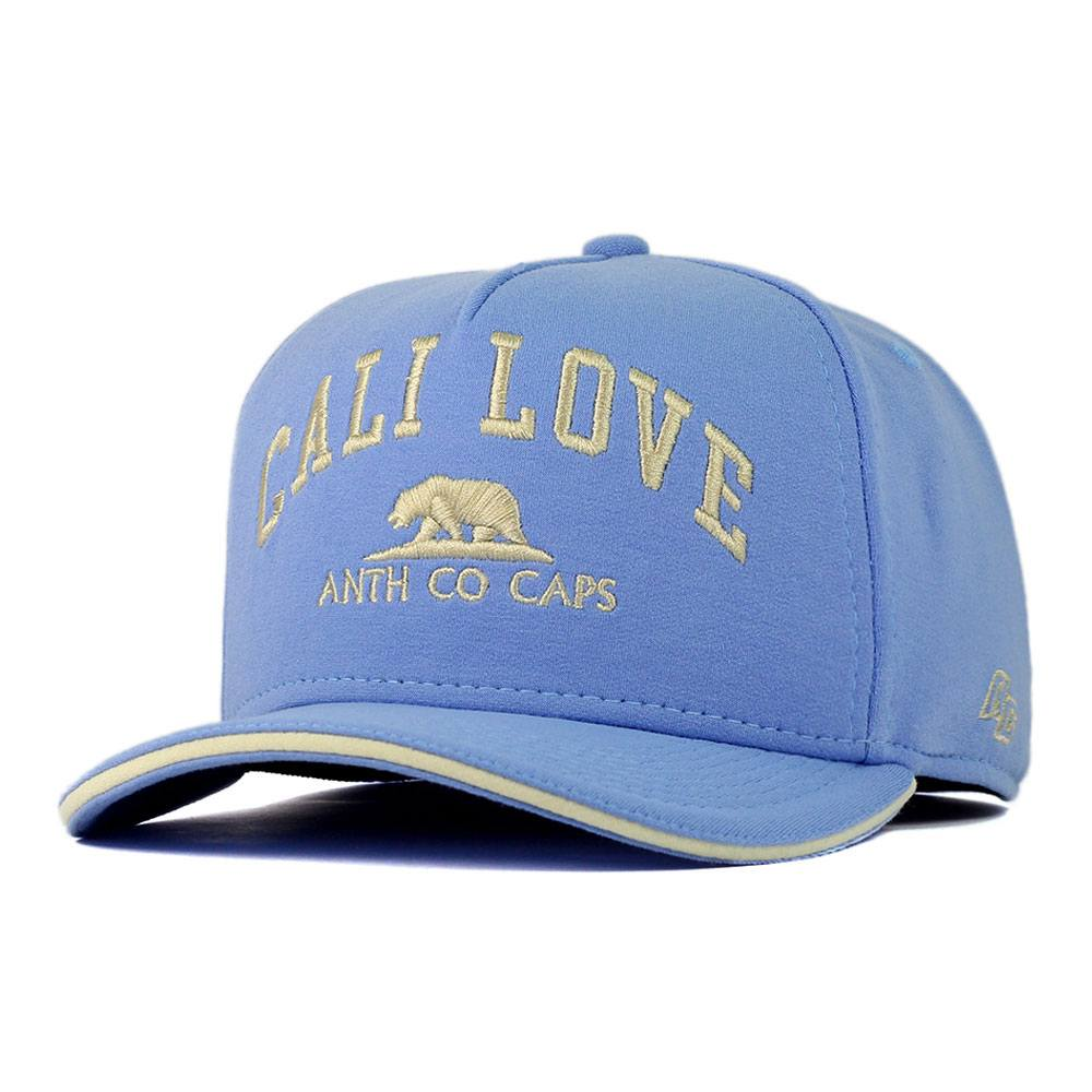 Boné Aba Curva Snapback Anth Co Call Love Azul