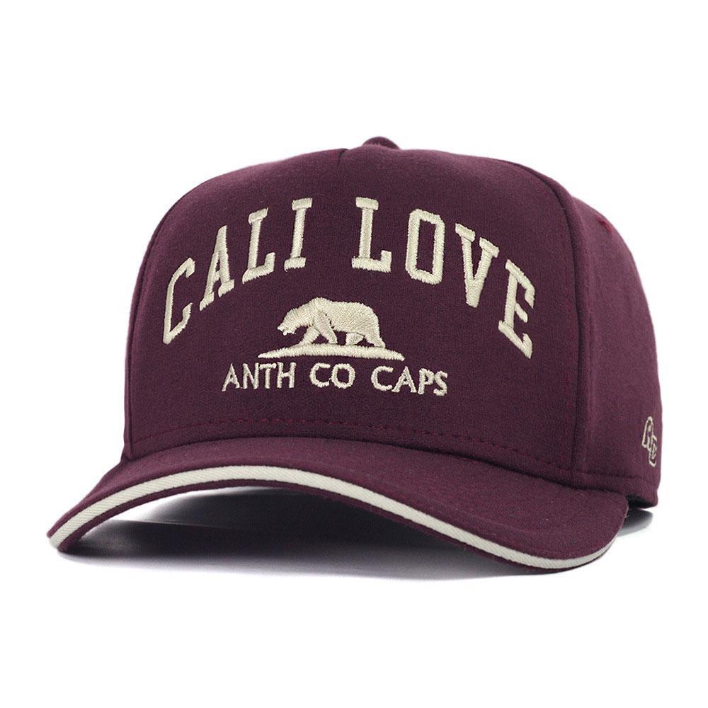 Boné Aba Curva Snapback Anth Co Call Love Vinho